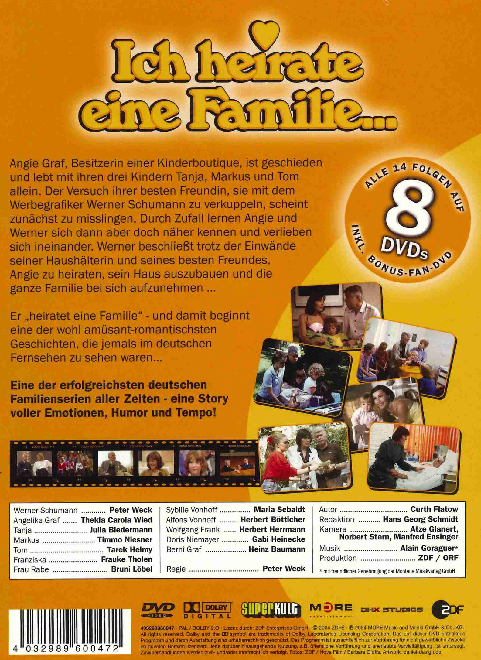 Ich Heirate Eine Familie Dvd