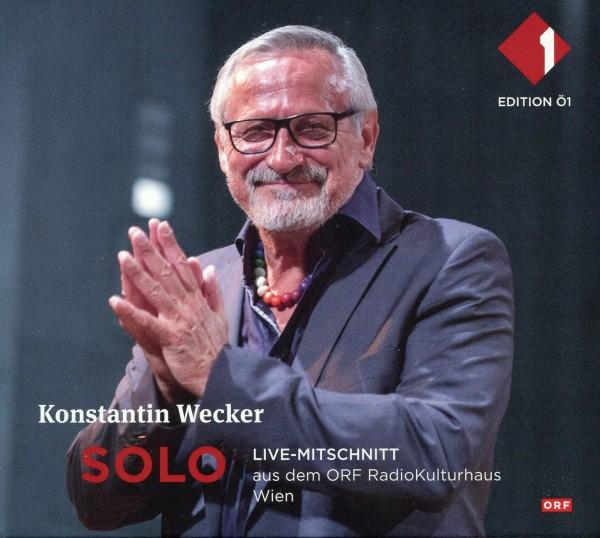 Konstantin Wecker: Solo