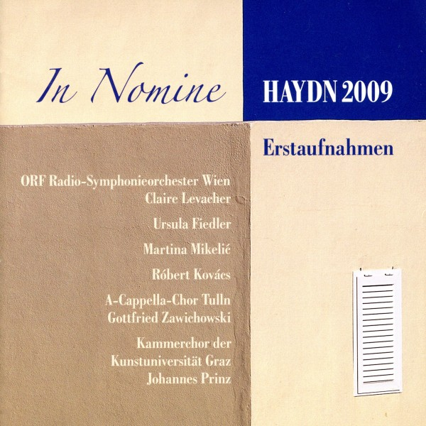 Haydn 2009 - In Nomine