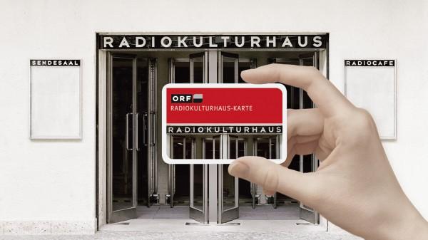 ORF RadioKulturhaus-Karte für 2 Personen