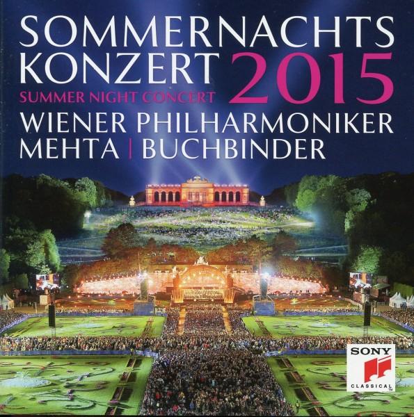 Sommernachtskonzert Schönbrunn 2015 CD