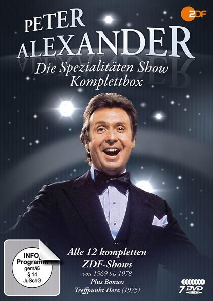 Peter Alexander: Die Spezialitäten Show Box