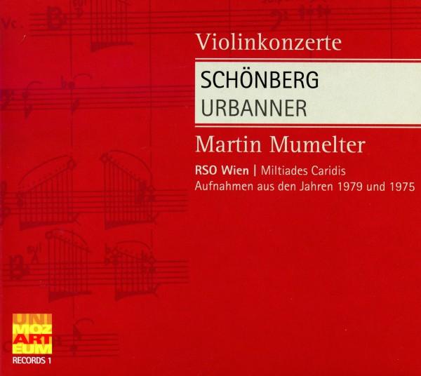 Schönberg/Urbanner: Violinkonzerte