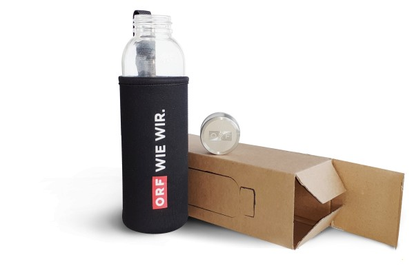 ORF Glasflasche