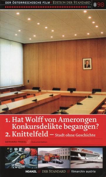 Hat Wolff von Amerongen Konkursdelikte begangen?/Knittelfeld