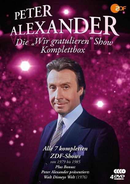 """Peter Alexander: Die """"Wir gratulieren"""" Show- Box"""