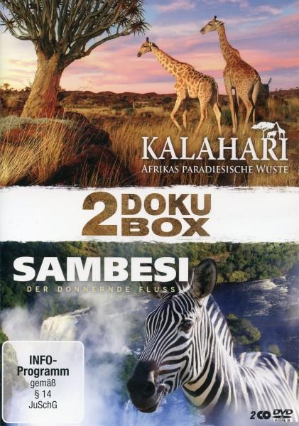 Doku Box Kalahari und Sambesi