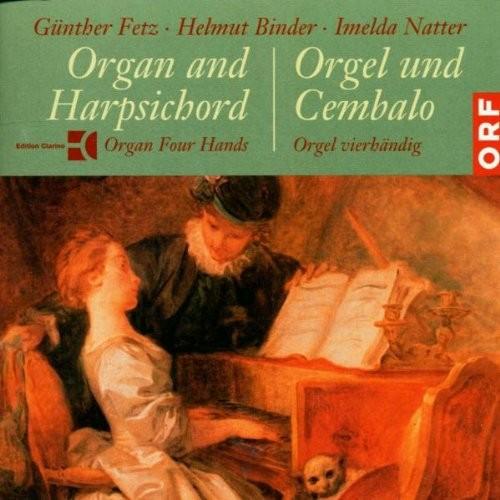 Orgel und Cembalo-Orgel Vierhändig