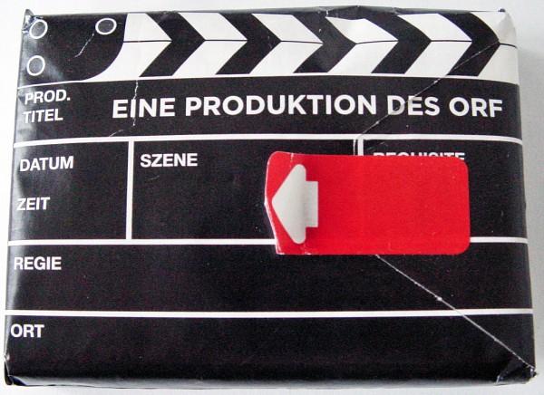 """ORF Taschentücher """"Filmklappe"""""""