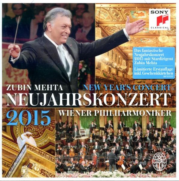 Neujahrskonzert 2015 CD