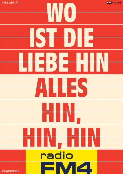 """Wendeplakat """"Liebe"""""""
