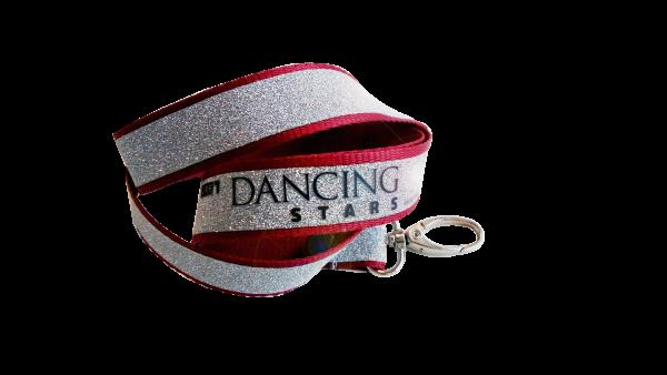 "Glitzer Lanyard ""Dancing Stars"""