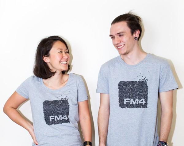 """FM4 T-Shirt """"Dreieck"""" (Damen)"""