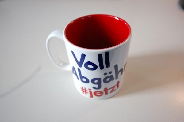 "Ö3 Kaffeehäferl ""Voll Abgähn"""
