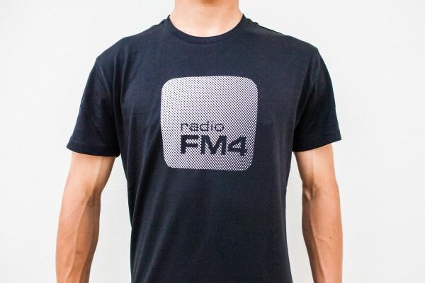 """FM4 T-Shirt """"Raster"""" (Herren)"""