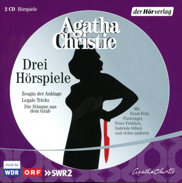 Agatha Christie: Drei Hörspiele