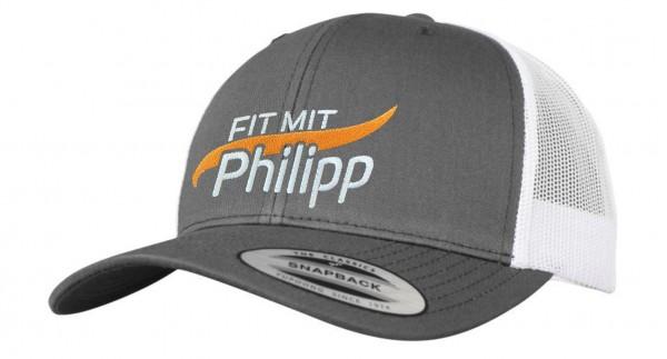 Fit mit Philipp Kappe grau/weiß