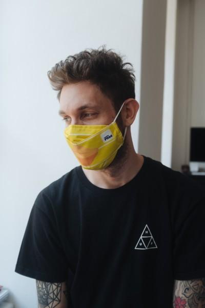 FM4 Gesichtsmaske Entenschnabel