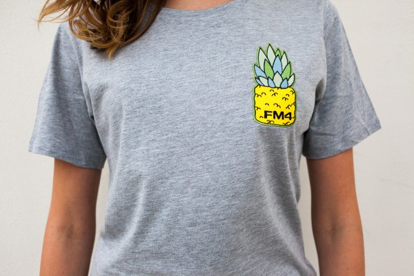 "FM4 T-Shirt ""Pineapple Patch"""