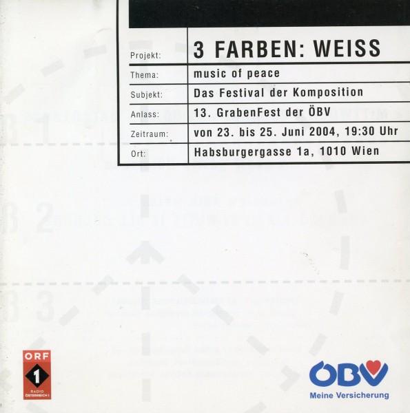 3 Farben: Weiss
