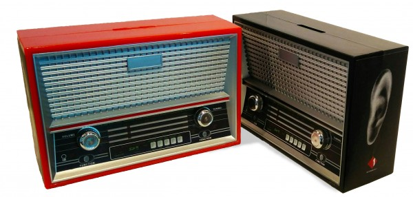 Ö1 Retro-Radio Spardose