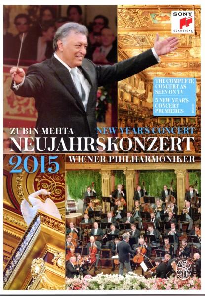 Neujahrskonzert 2015 DVD