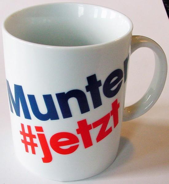 """Ö3 Kaffeehäferl """"Munter"""""""