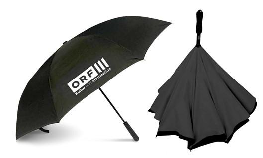 """ORF-III-Regenschirm """"Reverse"""""""