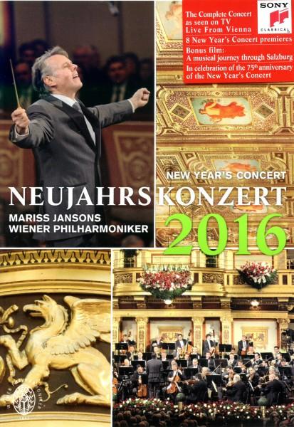 Neujahrskonzert 2016 DVD