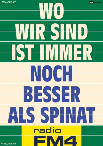 "Wendeplakat ""Spinat"""