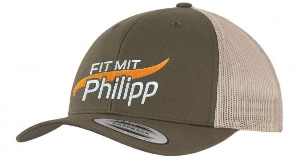 Fit mit Philipp Kappe mossgreen/khaki