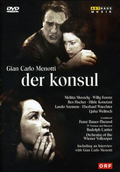 Gian Carlo Menotti: Der Konsul