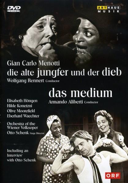 Gian Carlo Menotti: Die alte Jungfer und der Dieb