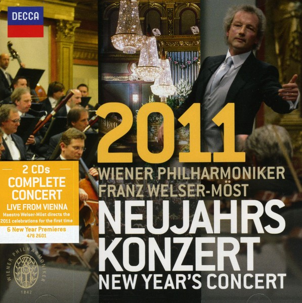 Neujahrskonzert 2011 CD