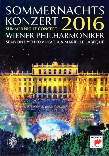 Sommernachtskonzert Schönbrunn 2016 DVD