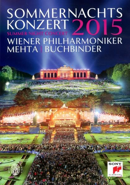 Sommernachtskonzert Schönbrunn 2015 DVD