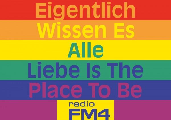 """Wendeplakat Pride """"Liebe"""""""